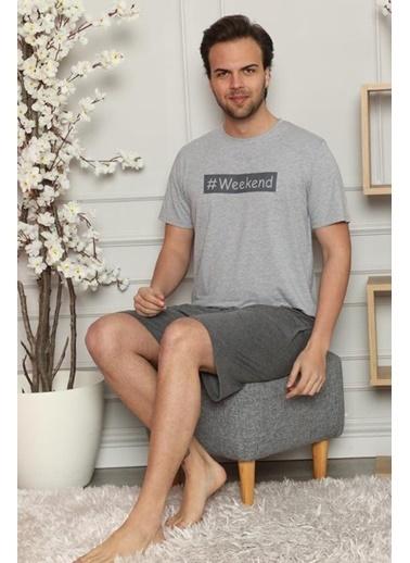 Pemilo Pijama Takım Gri